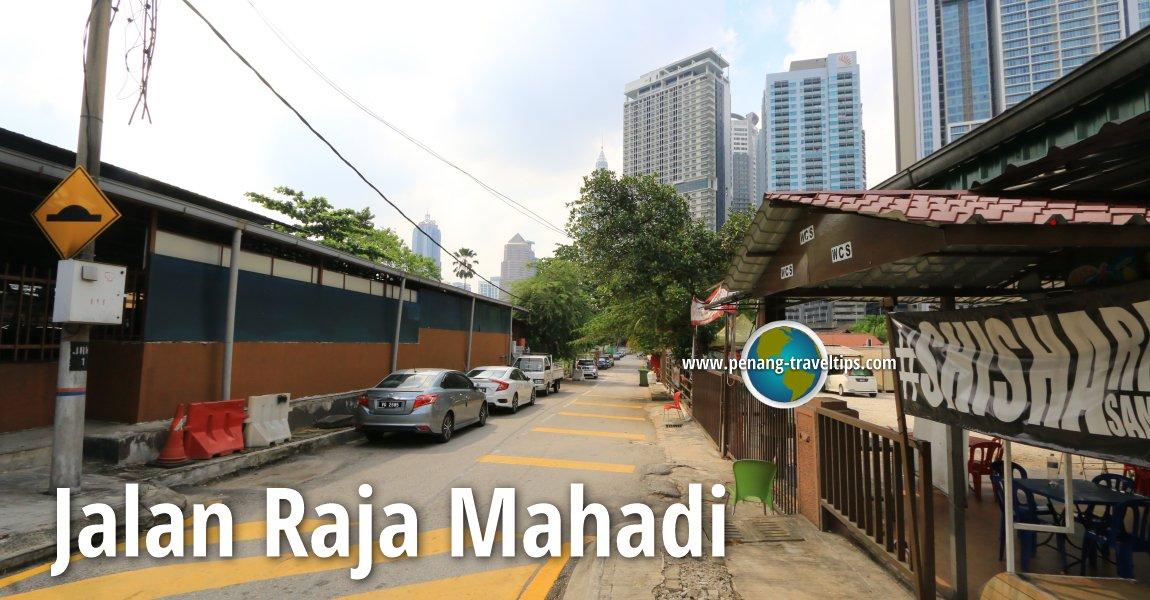 Jalan Raja Mahadi, Kuala Lumpur