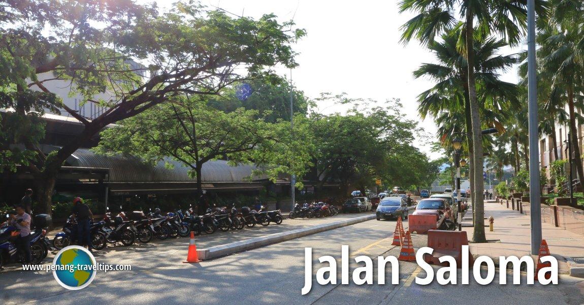 Jalan Saloma, Kuala Lumpur