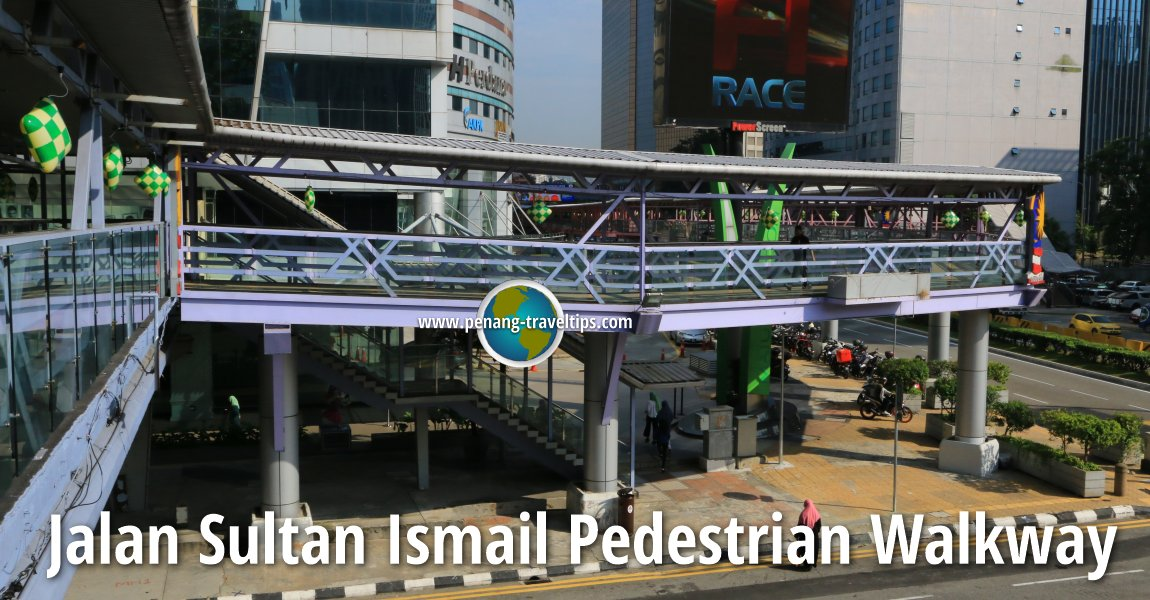 Jalan Sultan Ismail Pedestrian Walkway, Kuala Lumpur