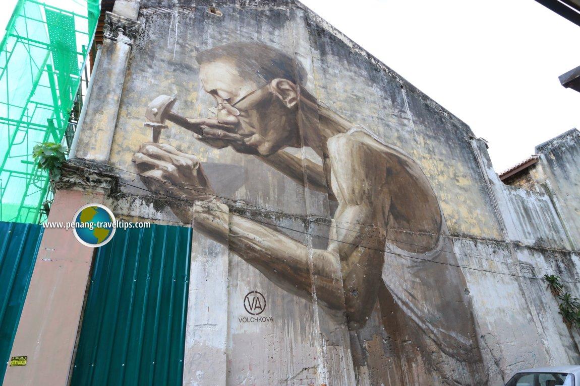 Julia Volchkova's Goldsmith Mural