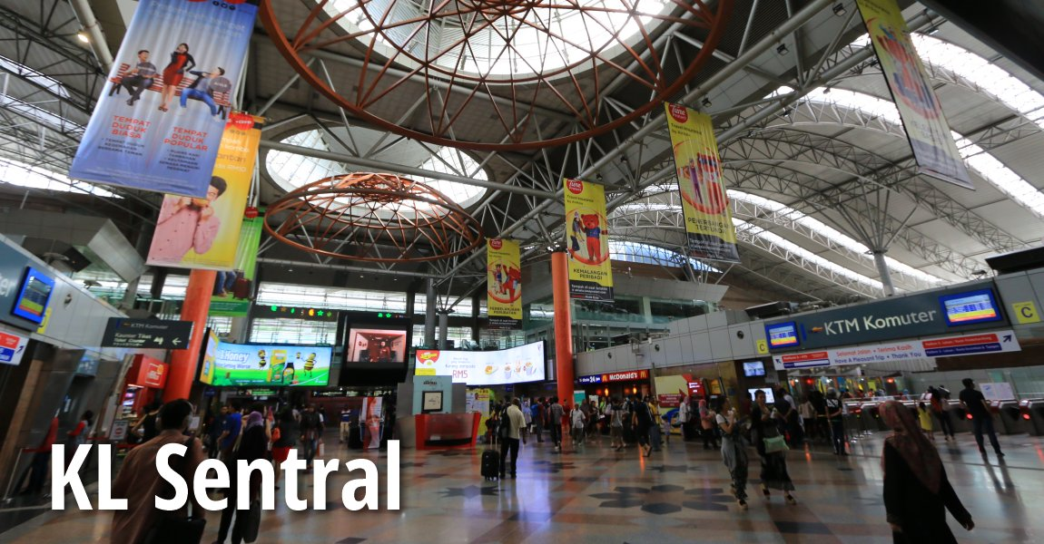 Kl Sentral Railway Station Kuala Lumpur