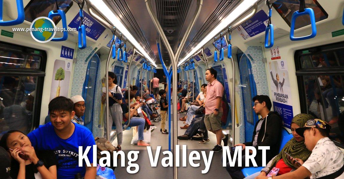 Klang Valley Mrt Kuala Lumpur Transport Guide