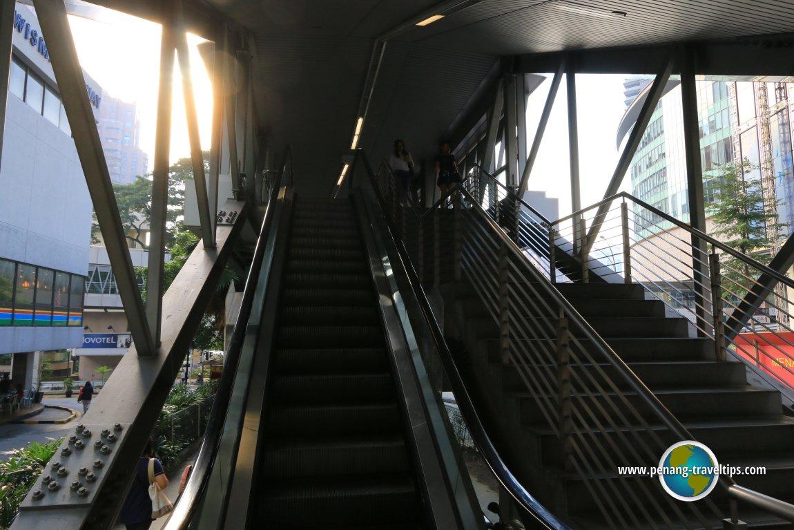 KLCC Elevated Walkway