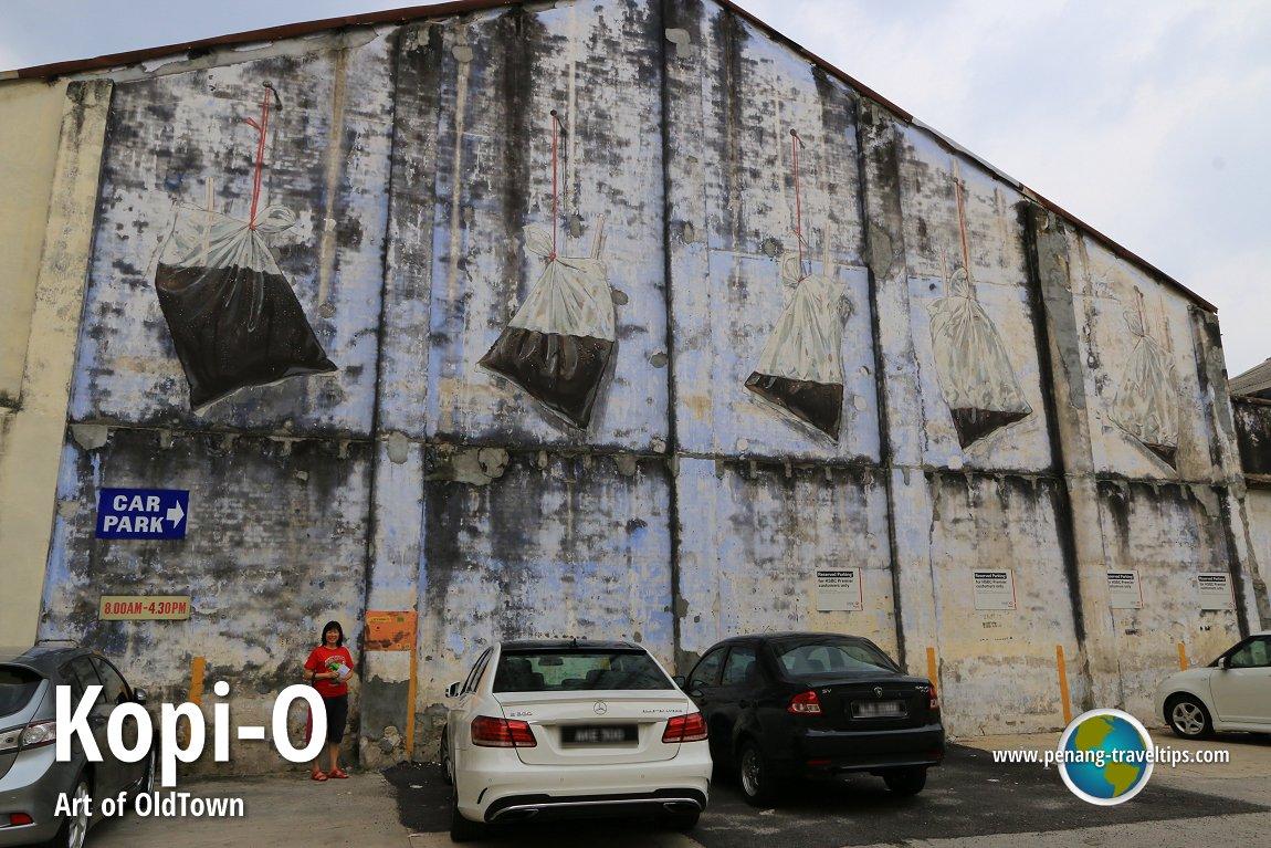 Kopi o mural ipoh for Mural 1 malaysia