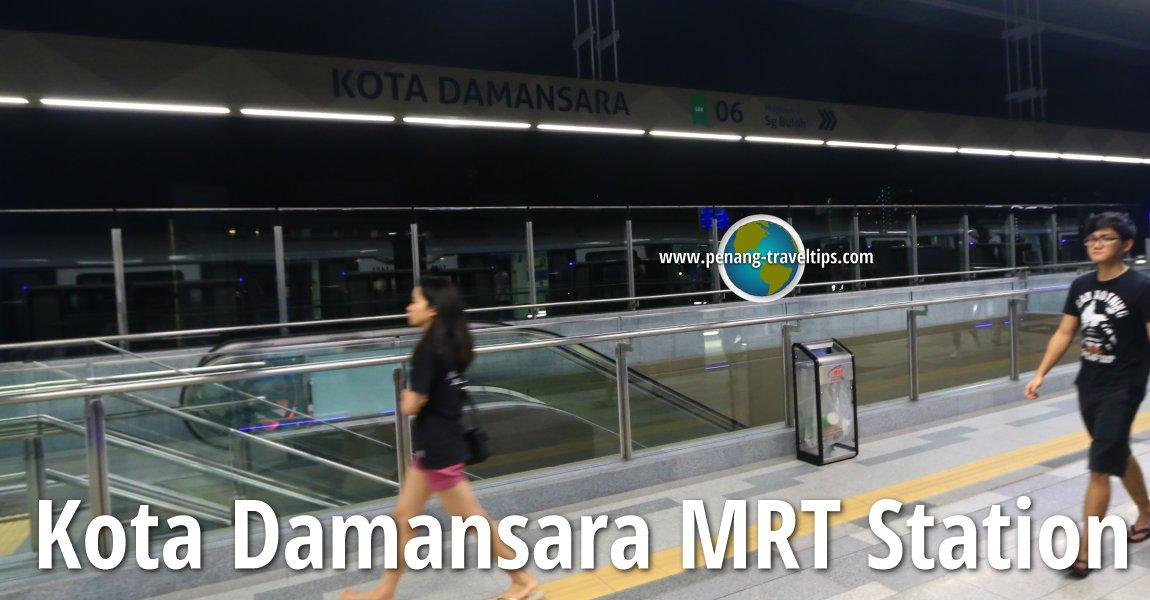 Kota Damansara MRT Station