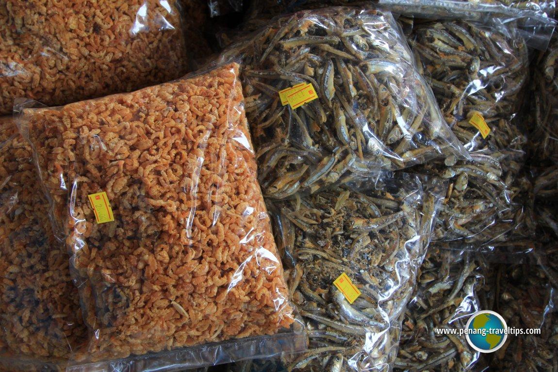 Kuala Sepetang foodstuff