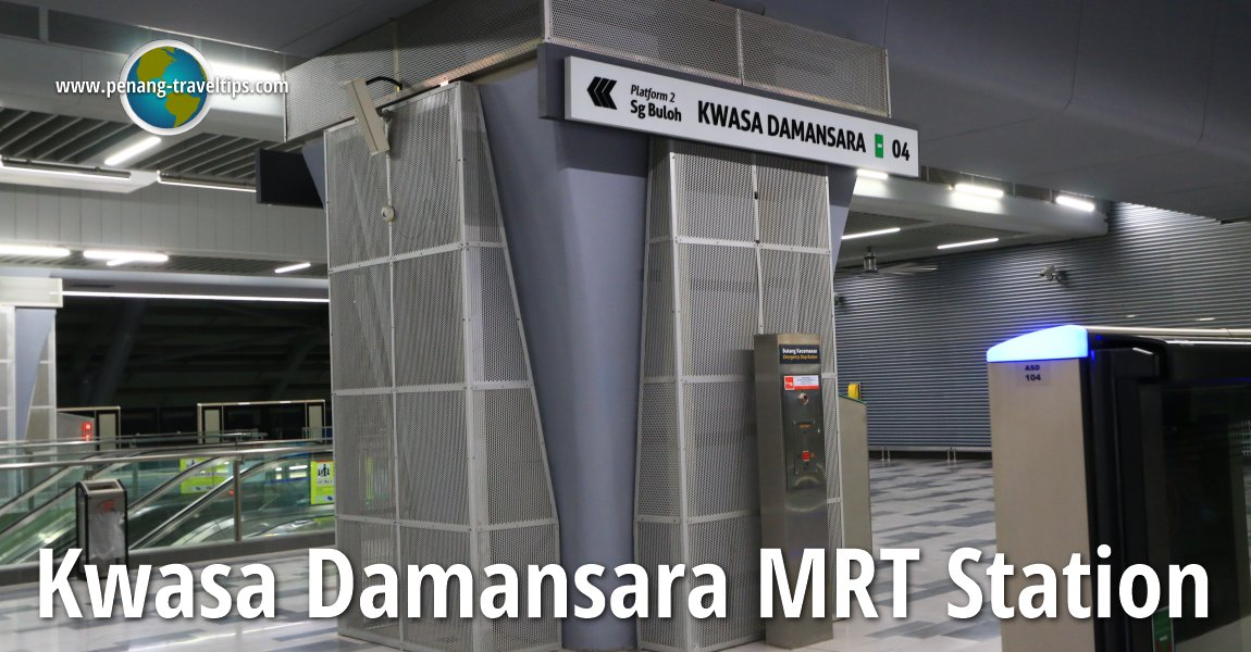 Kwasa Damansara MRT Station