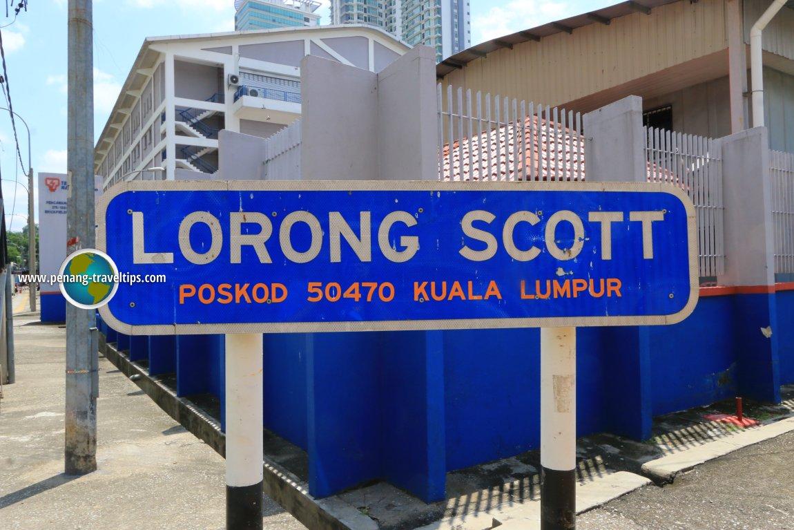 Lorong Scott, Kuala Lumpur