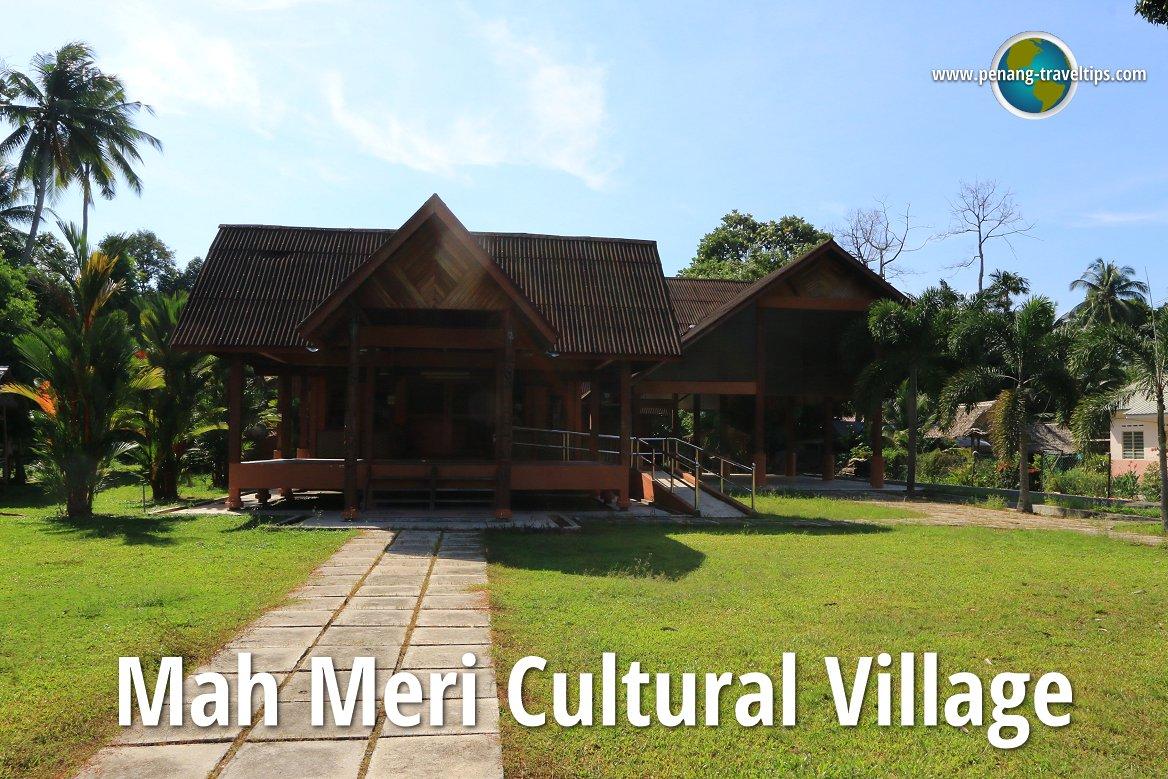 Mah Meri Cultural Village Pulau Carey Selangor