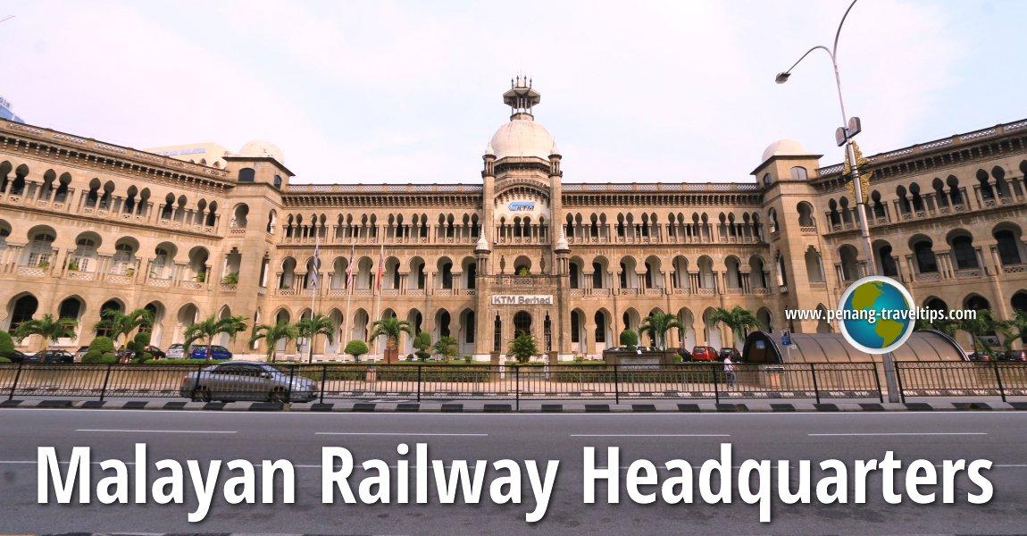 Malayan Railway Headquarters, Kuala Lumpur