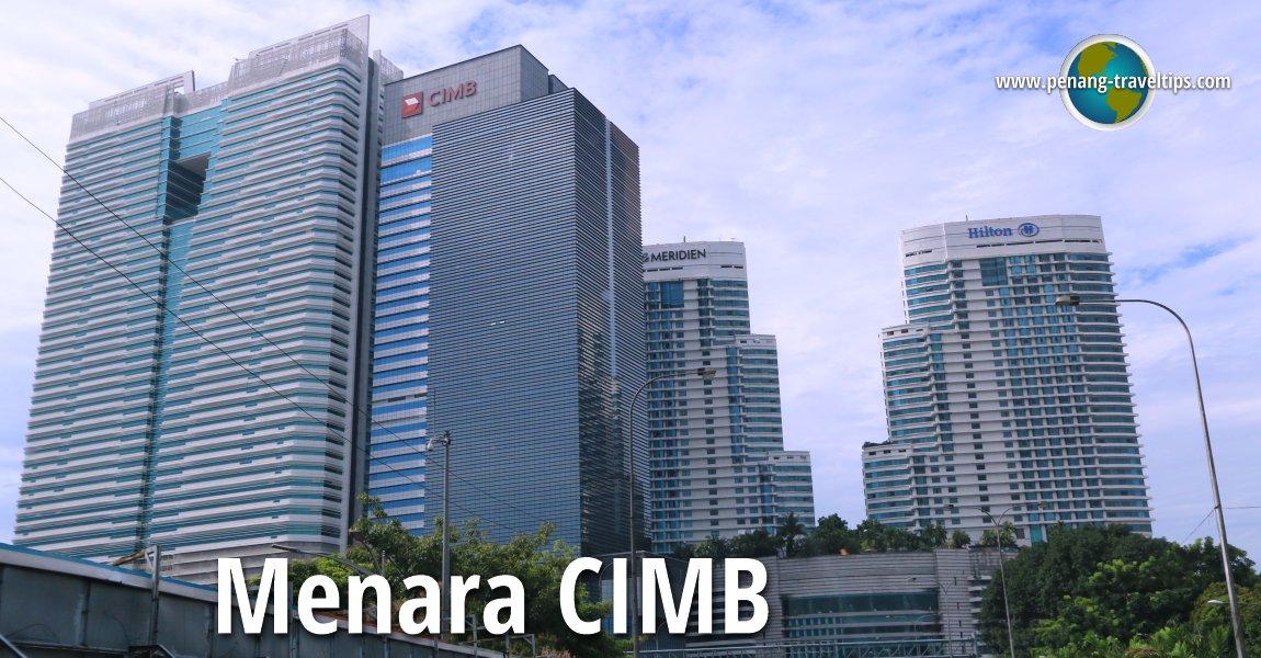Menara CIMB, Kuala Lumpur