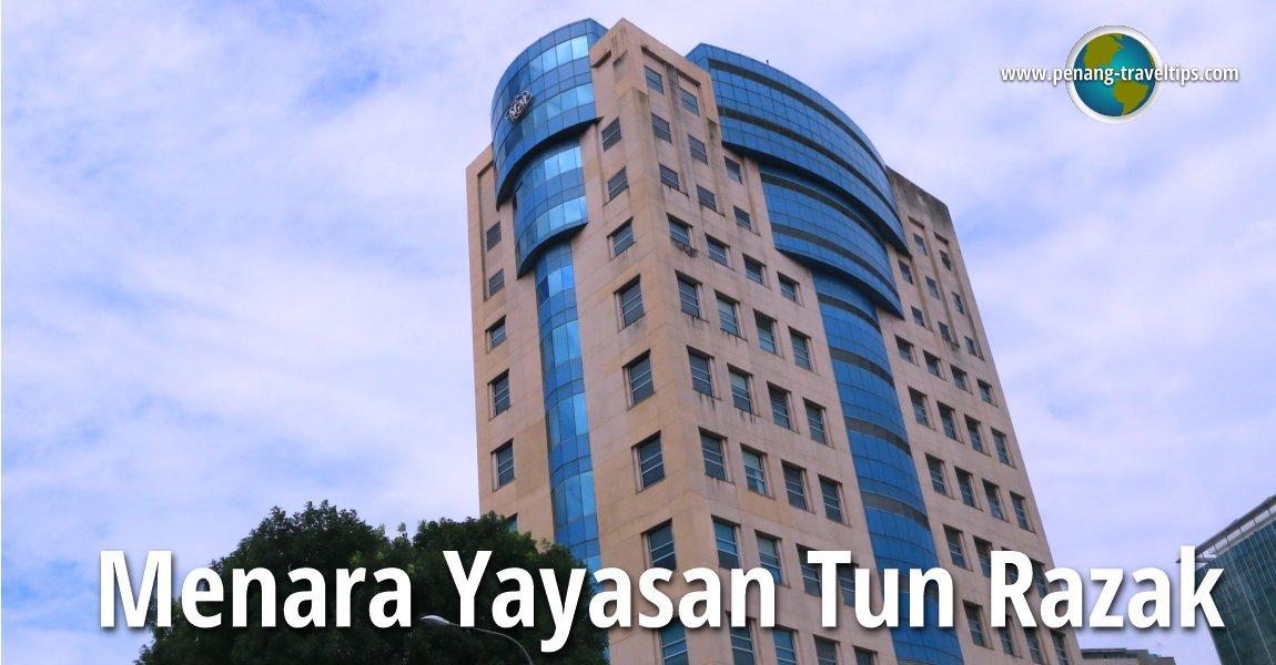 Menara Yayasan Tun Razak, Kuala Lumpur