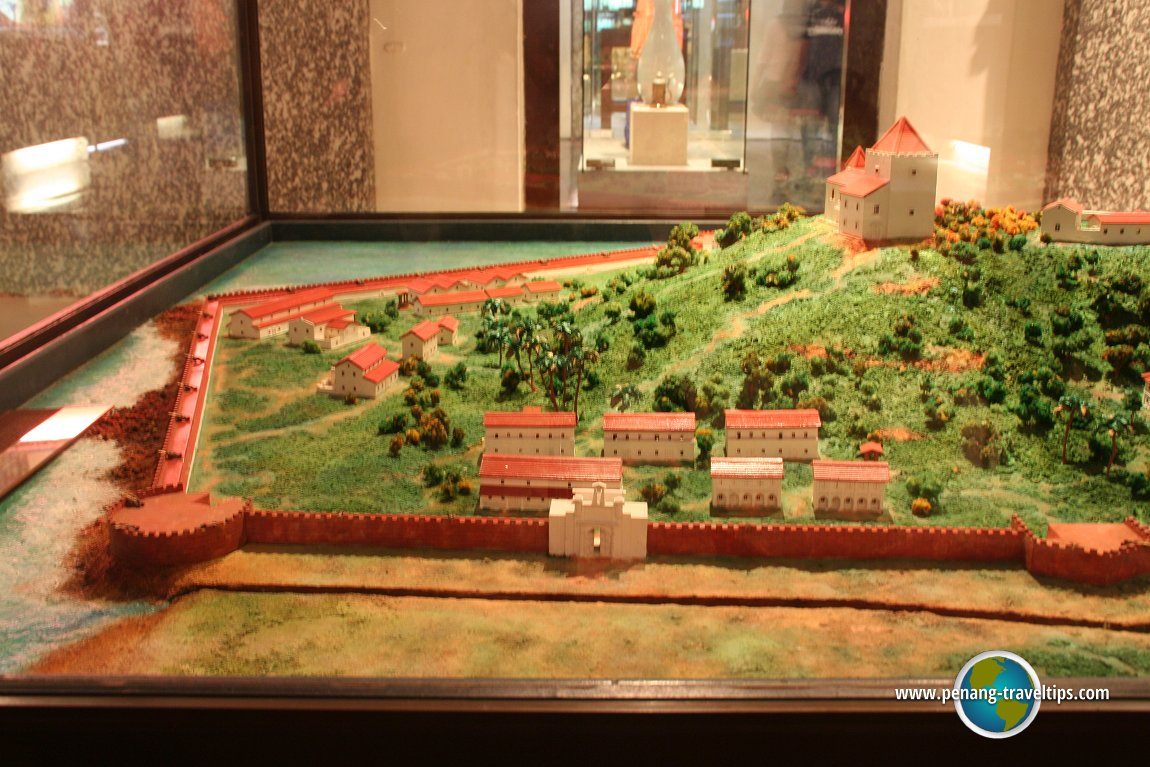 Model of the Malacca Fort