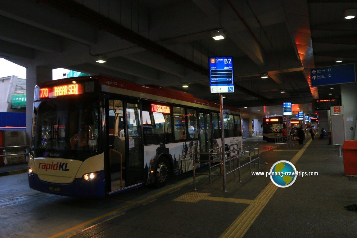 Pasar Seni Bus Station