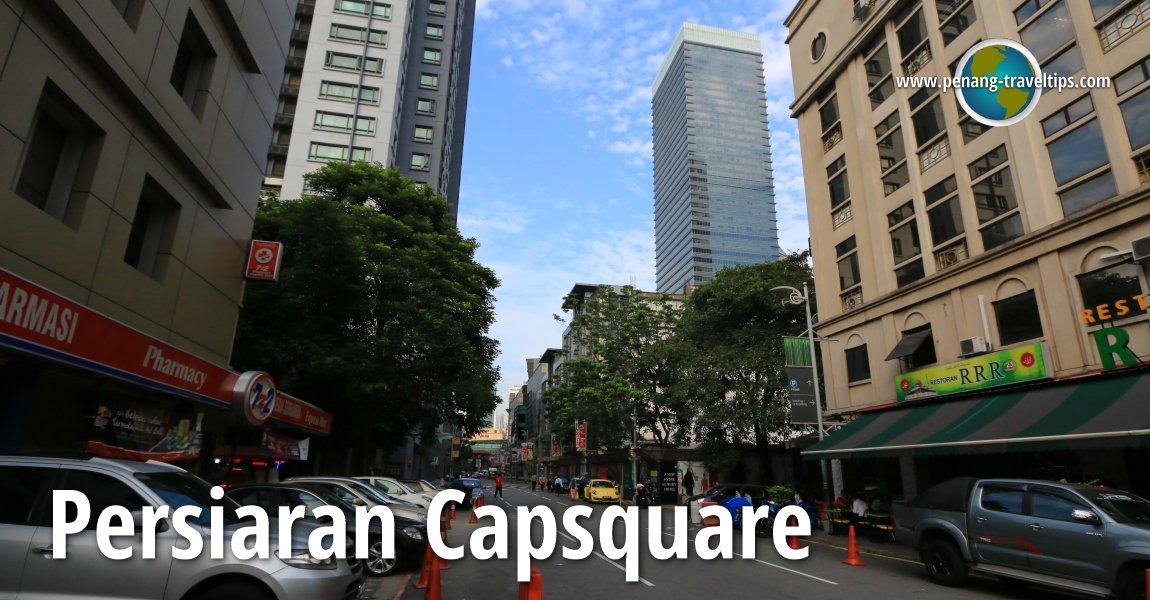 Persiaran Capsquare, Kuala Lumpur