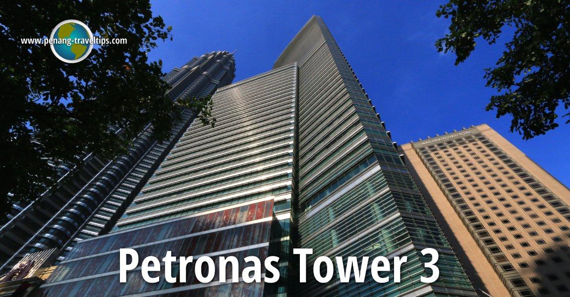 Petronas Tower 3  Menara Carigali   Klcc  Kuala Lumpur