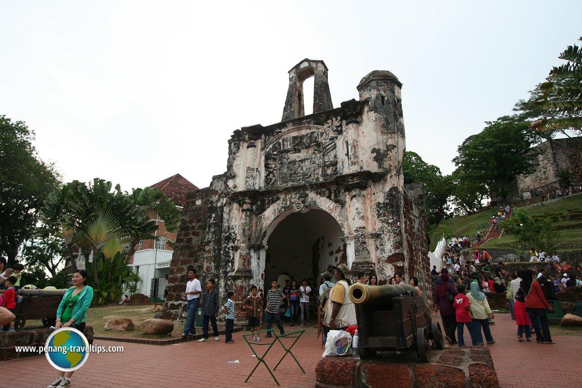 Porta de Santiago, Malacca
