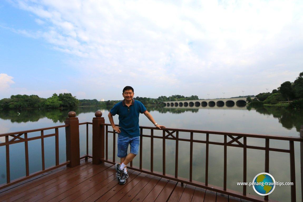 Timothy Tye at Putrajaya Lake