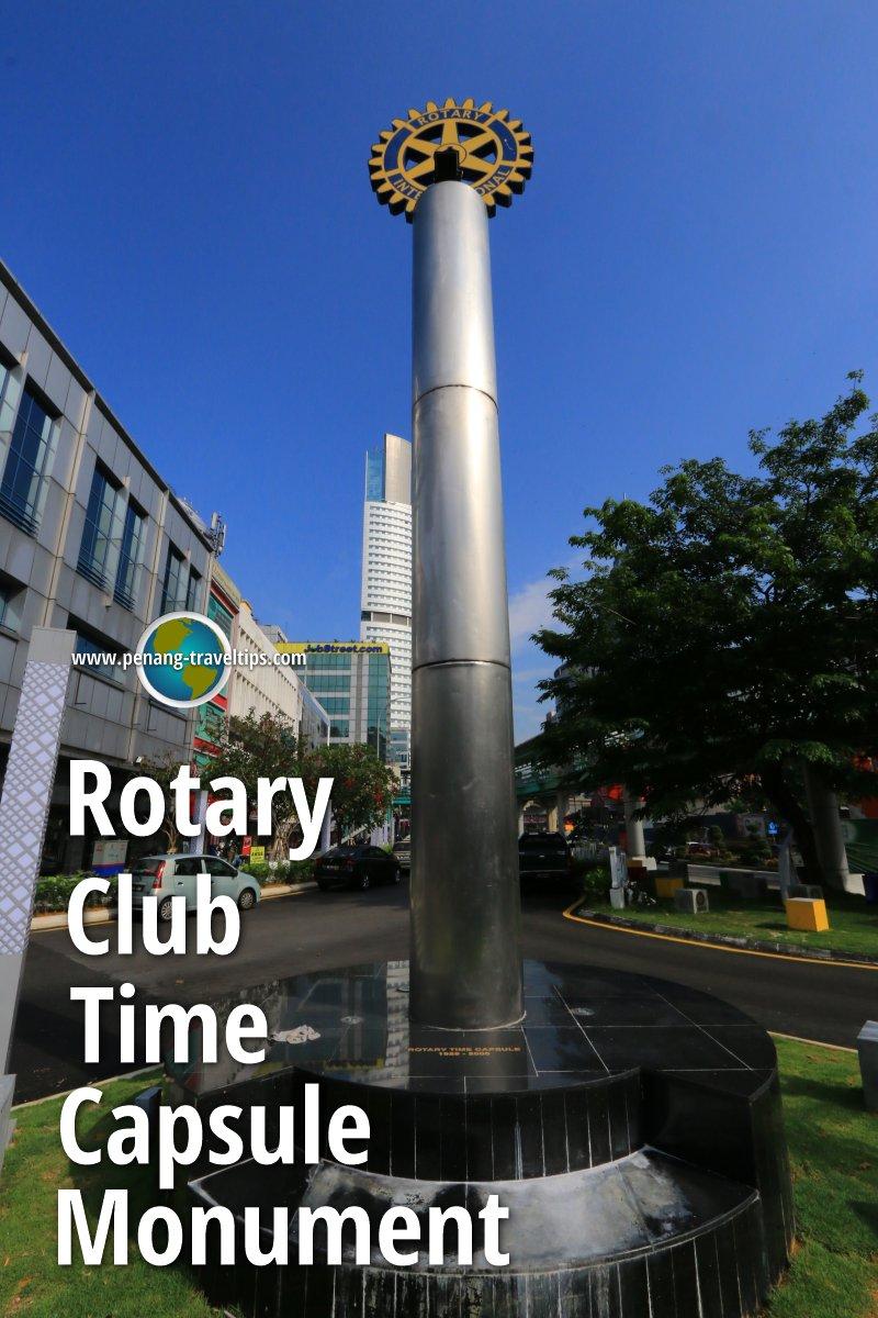 Rotary Club Time Capsule Monument, Kuala Lumpur