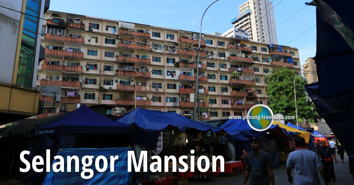 Selangor Mansion, Kuala Lumpur