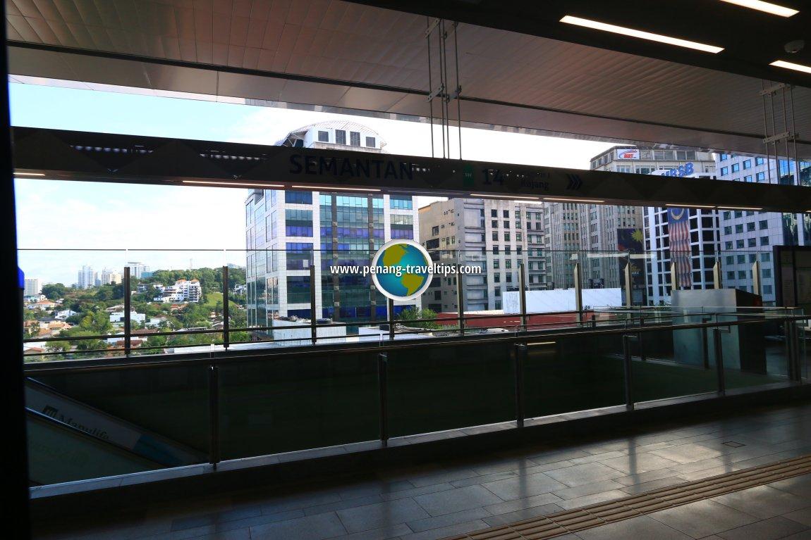 Semantan MRT Station