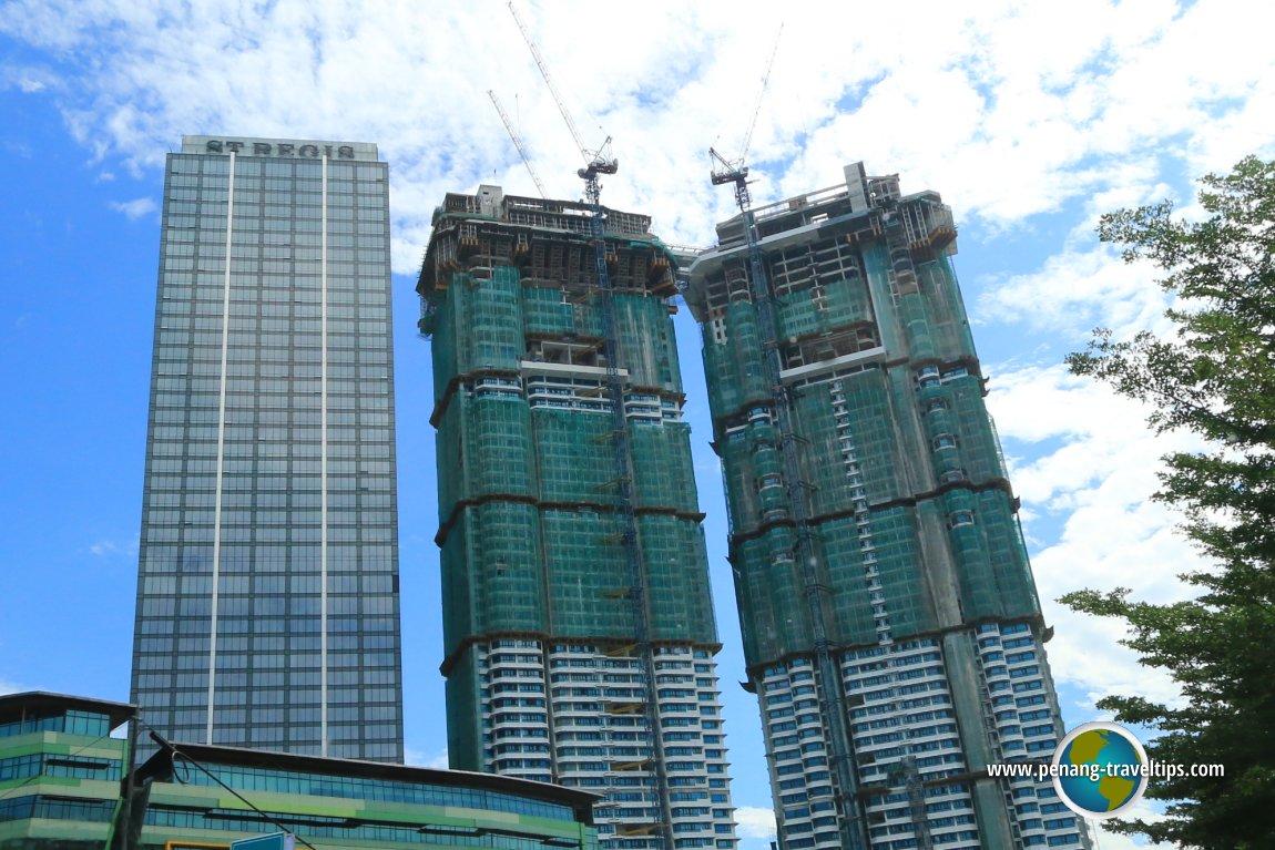 Sentral Residences under construction