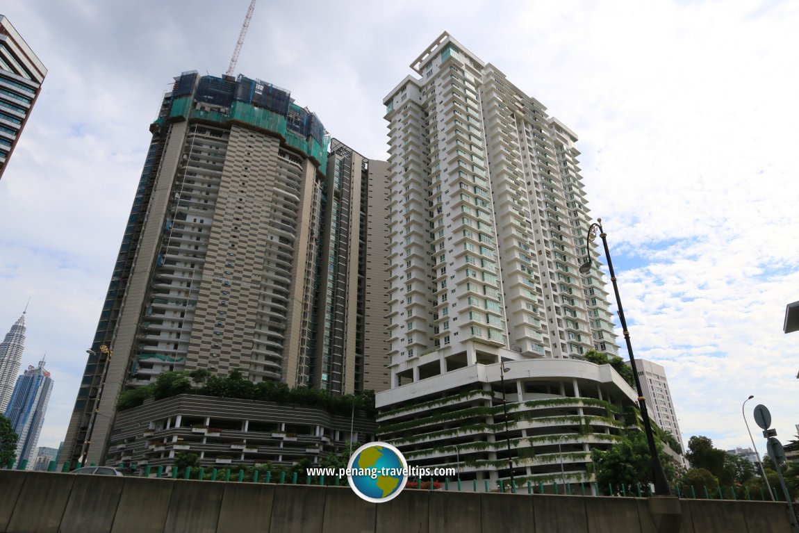 Setia Sky Residences and The Orion