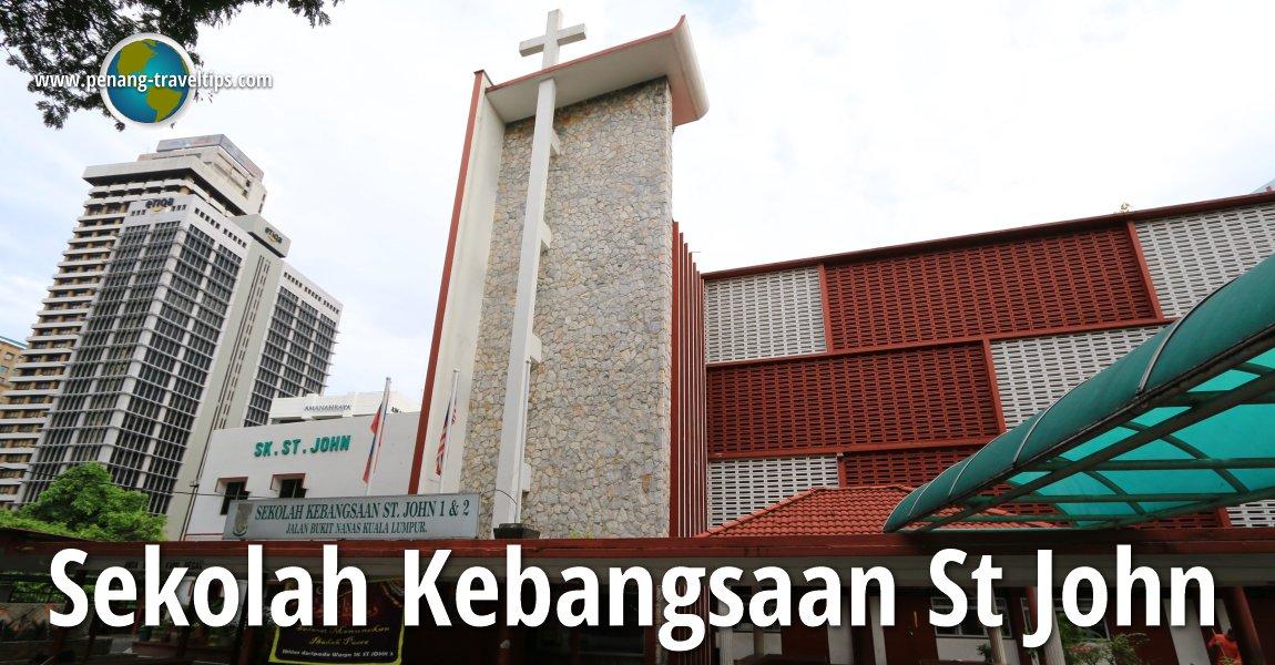 Sekolah Kebangsaan St John, Kuala Lumpur