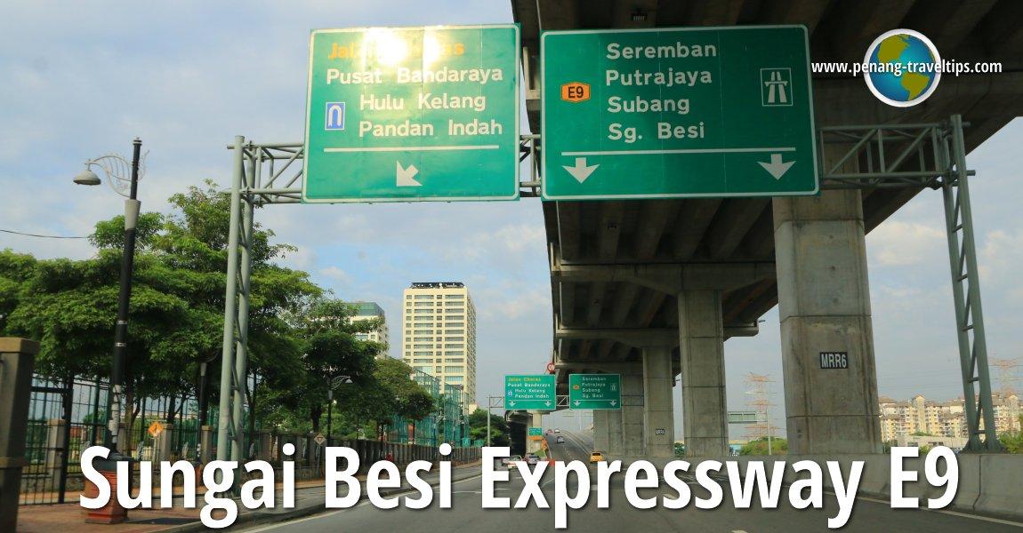 Sungai Besi Expressway    Besraya Highway  E9