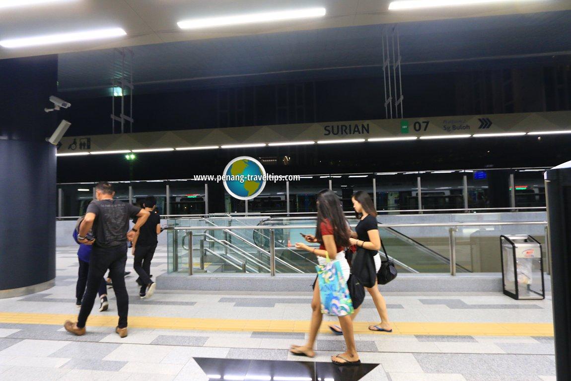 Surian MRT Station