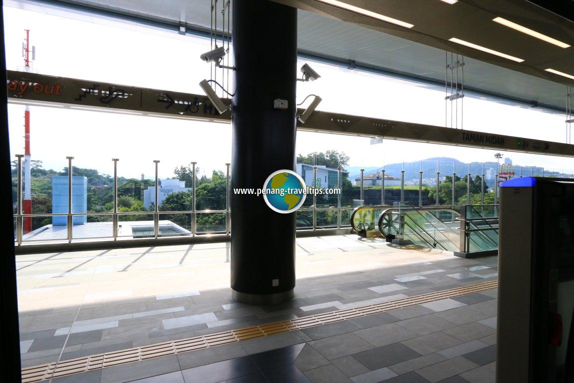 Taman Midah MRT Station