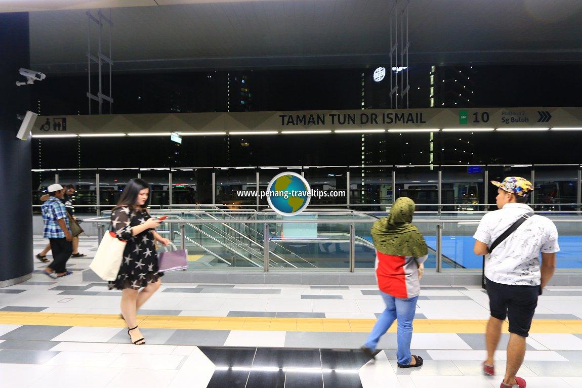 Taman Tun Dr Ismail MRT Station