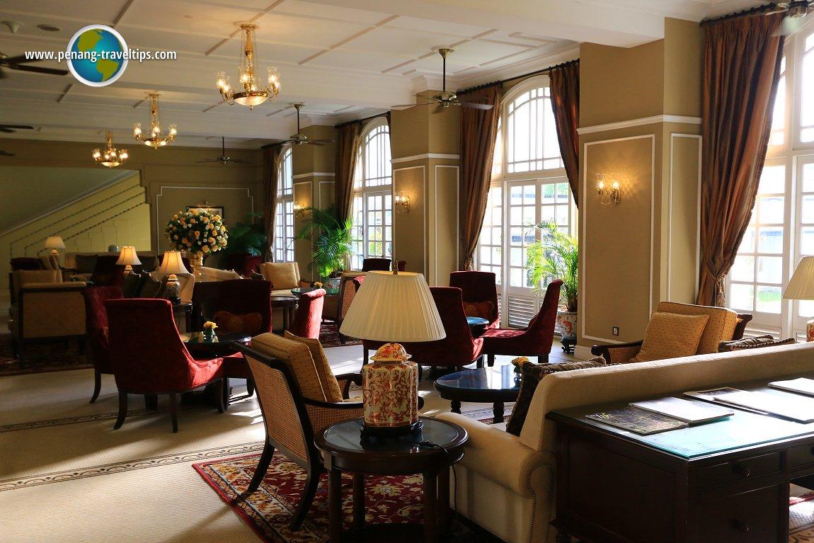 The Tea Lounge of The Majestic Hotel Kuala Lumpur