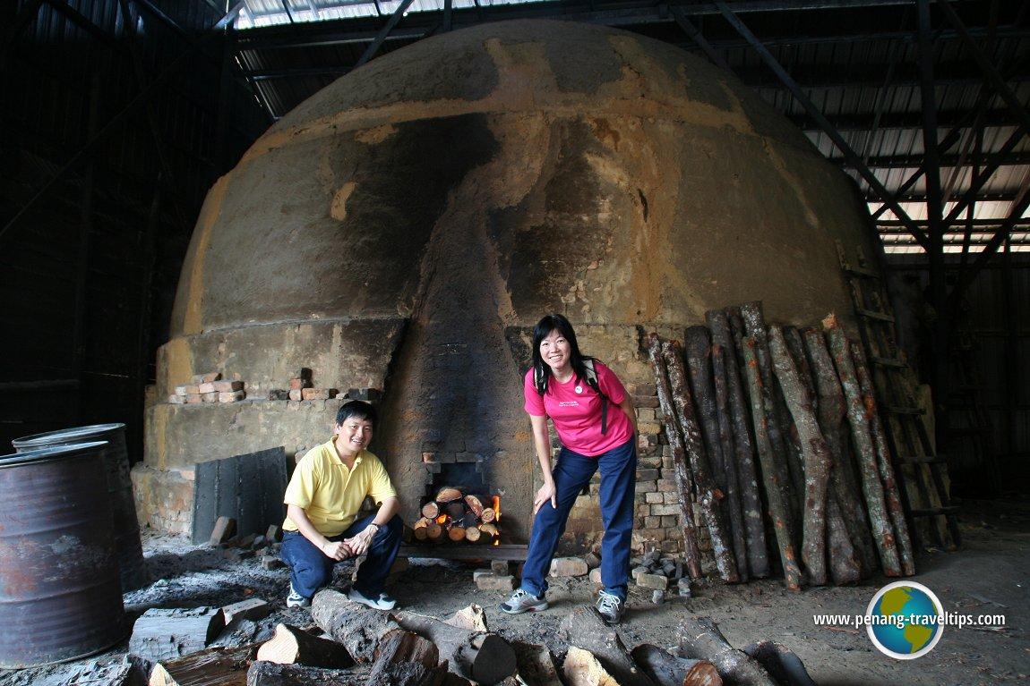 Timothy Tye & Goh Chooi Yoke, Kuala Sepetang Charcoal Factory