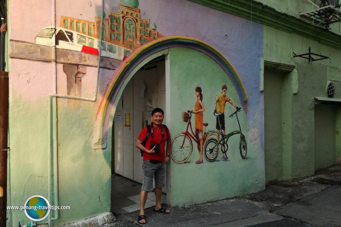 Transport Mural Kuala Lumpur