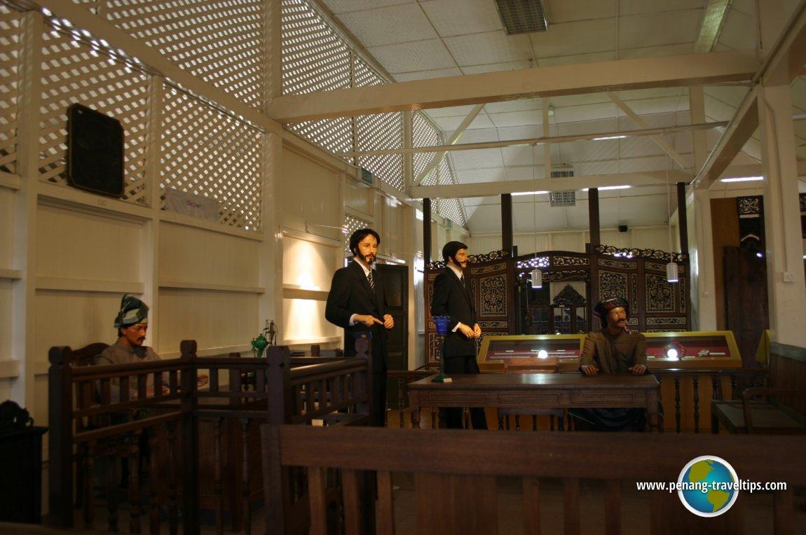 The trial of Ngah Ibrahim