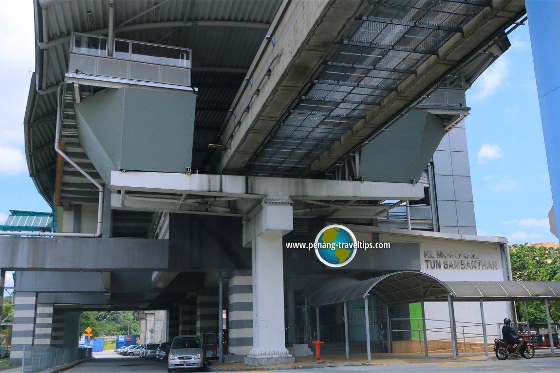 Tun Sambanthan Monorail Station