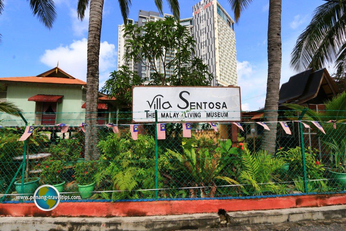 Villa Sentosa signboard