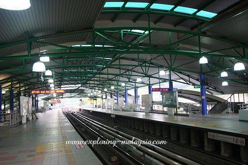 LRT Station in Kuala Lumpur