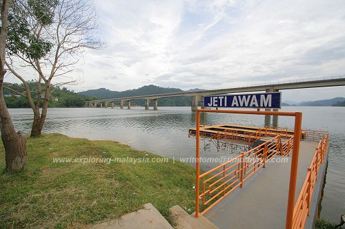 Public Jetty, Temengor Lake