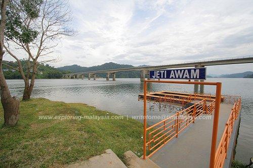 Public Jetty, Temengor Lake
