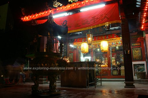 Chinese temples in Sarawak