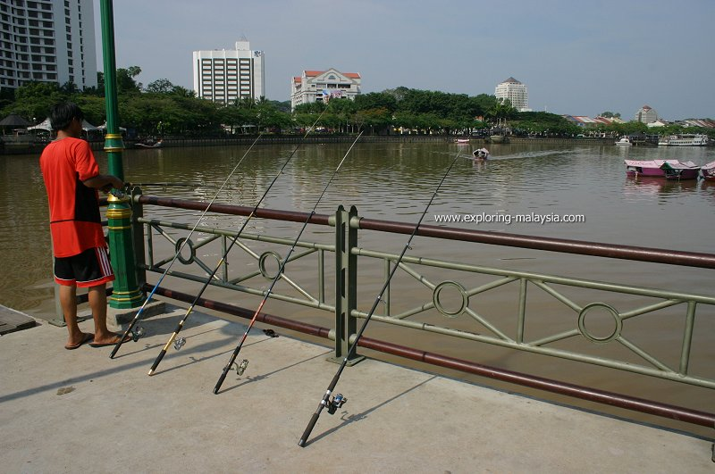 Angling on the Sarawak River, Kuching