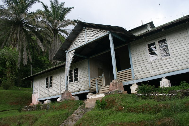 Colonial-era bungalow on Maxwell Hill