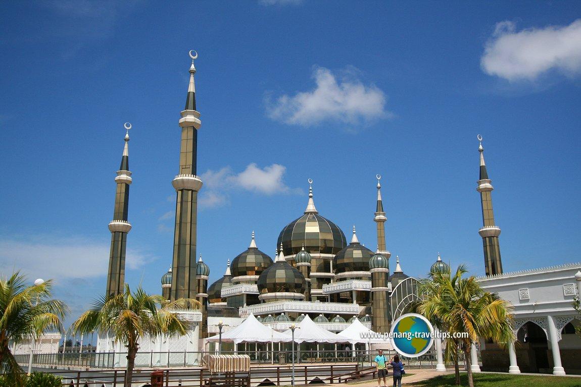 The Crystal Mosque at Taman Tamadun Islam