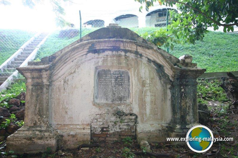 Dutch Graveyard, Malacca