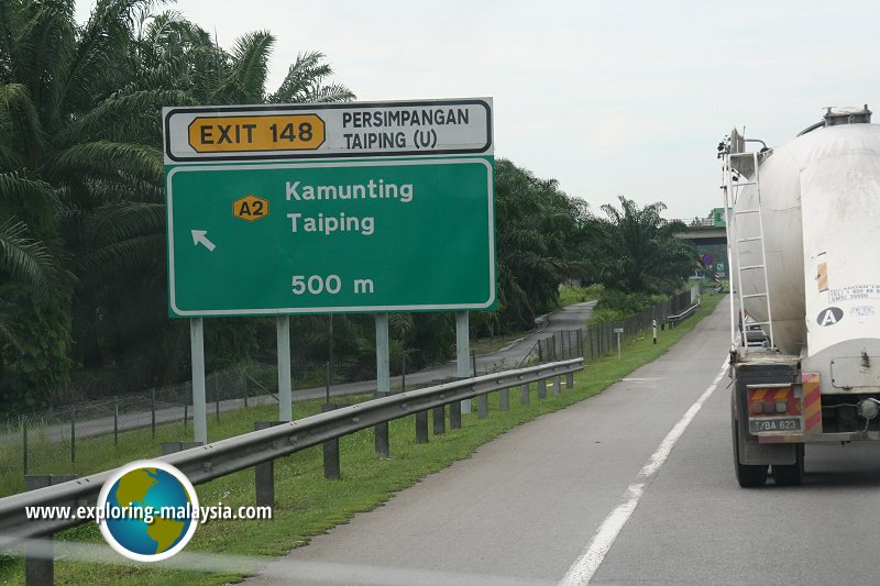 Exit 148: Taiping North Interchange