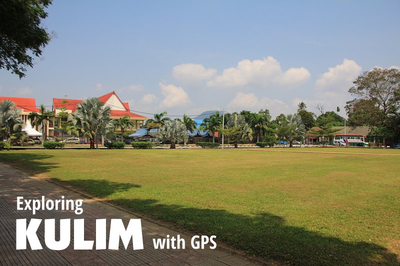Exploring Kulim with GPS