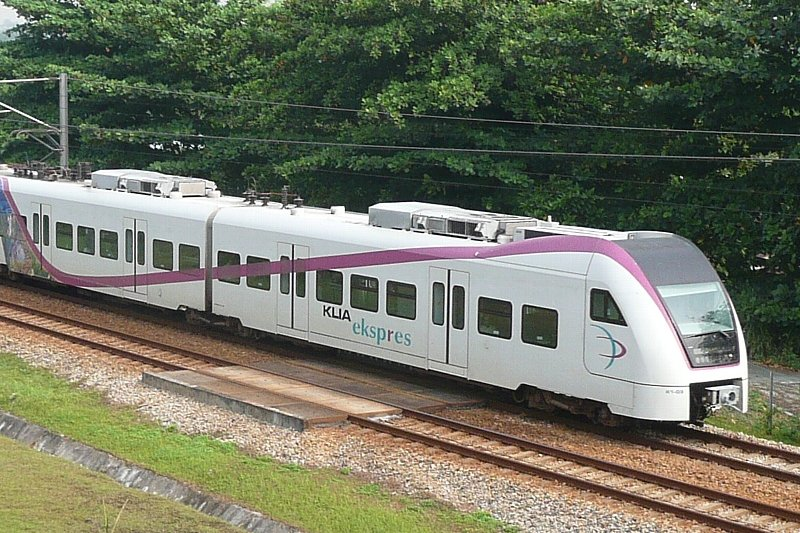 The KLIA Ekspres of the Express Rail Link