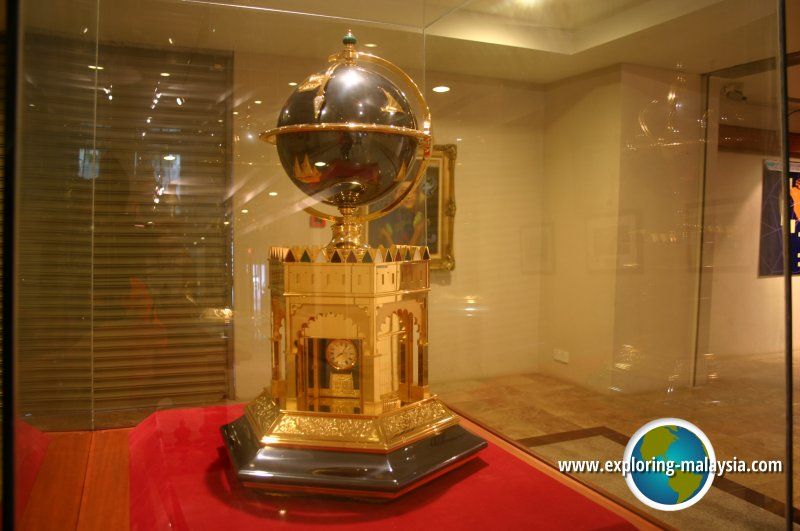 Item on display at Galeria Perdana